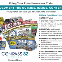 Filing Your Flood Insurance Claim: Document the Outside, Inside, Contents