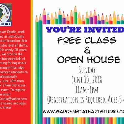 Free Art Class and Open House